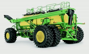 John Deere introduces its largest air cart ever – the new C850 with an 850-bushel carrying capacity.
