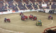 Tractor square dancing at the Pennsylvania Farm Show