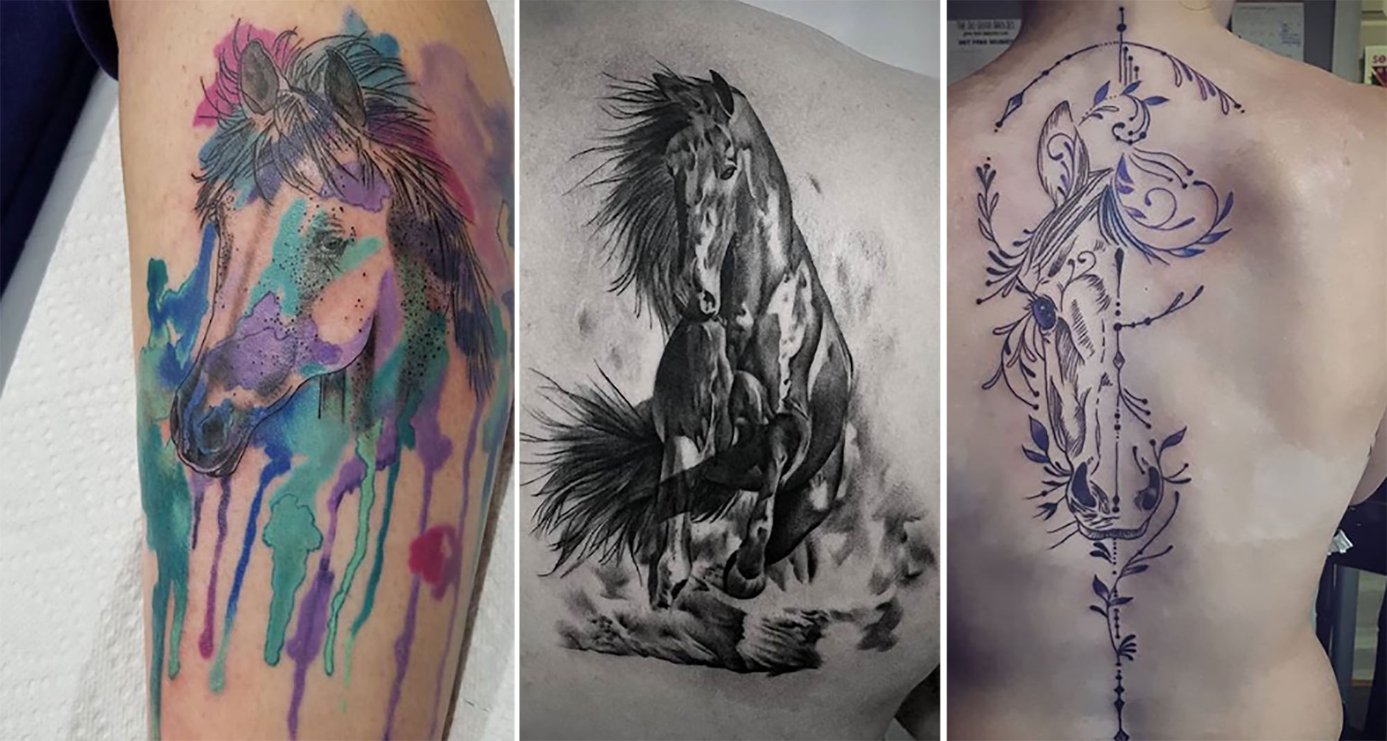 24 Great Horse Tattoos That Fuel Your Passion To Ride Agdaily