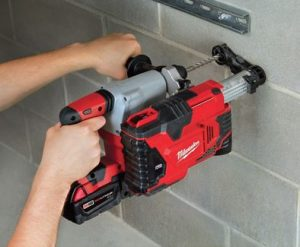 Milwaukee M12 Hammervac Universal Dust Extractor Kit