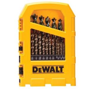DEWALT Pilot Point Gold Ferrous Oxide Drill Bit Set