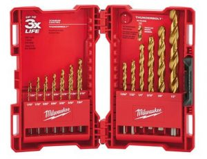 Milwaukee Titanium Coated Drill Bit Set