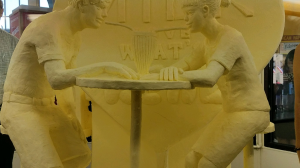 butter sculpture