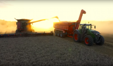 2019 harvest montage from Farming Photography