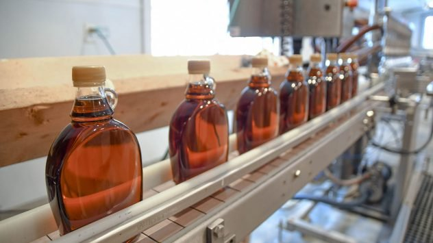 maple syrup bottling