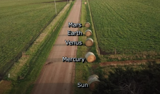 Farmer Derek brings science to life with hay-bale solar system