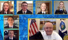 National FFA Officers & Secretary Sonny Perdue discuss COVID-19