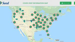 cover crop information map