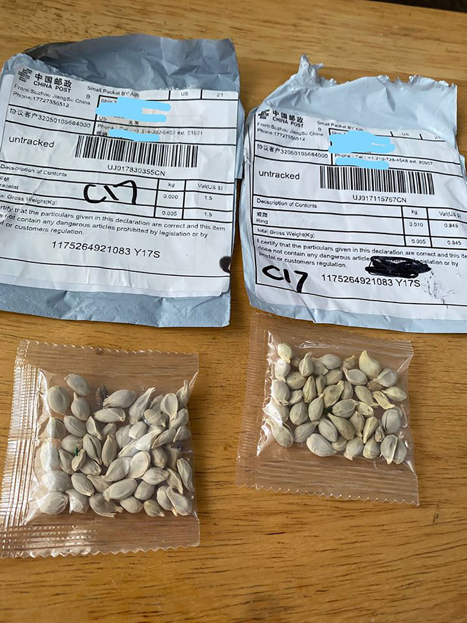 foreign seeds
