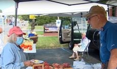 90-year-old keeps Michigan farmers market going