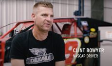 NASCAR driver Clint Bowyer discusses his roots around farmers