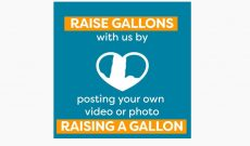 Raise a glass of milk during Hunger Action Month