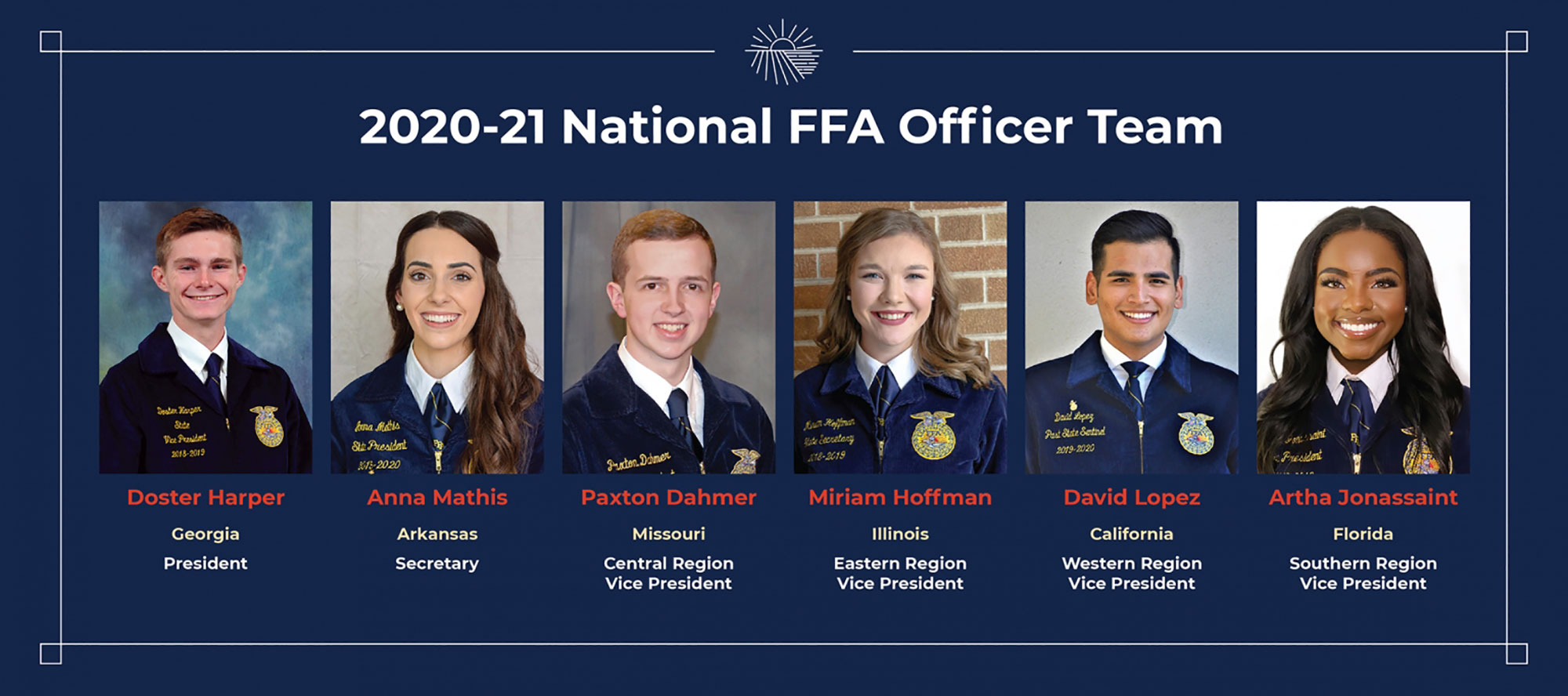 2020-21 National FFA Officers