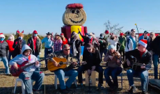 A Charlie Brown Christmas classic celebrated on the farm