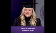 K-State grad: Choose to be a 'Good Farmer'