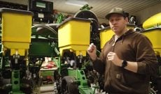 Here's how a corn planter works