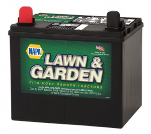 NAPA Lawn and Garden Tractor Battery