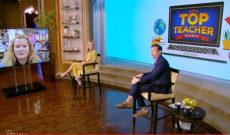 FFA advisor gets national recognition on ABC's 'Live with Kelly & Ryan'