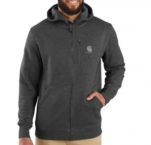 Force Relaxed Fit Midweight Full-Zip Sweatshirt